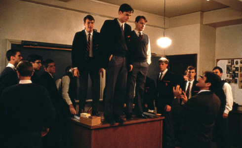 Still shot from the movie: Dead Poets Society.