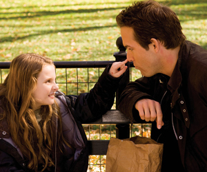 Still shot from the movie: Definitely, Maybe.