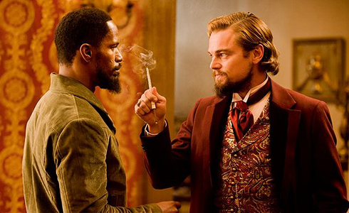 Still shot from the movie: Django Unchained.