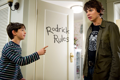 Still shot from the movie: Diary of a Wimpy Kid: Rodrick Rules.