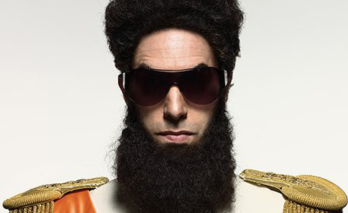 Still shot from the movie: The Dictator.