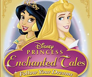 Still shot from the movie: Disney Princesses Enchanted Tales: Follow Your Dreams.