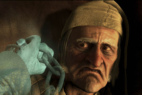 Still shot from the movie: Disney's A Christmas Carol.