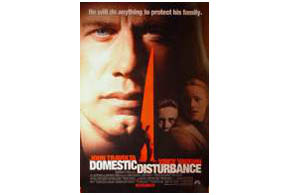 Still shot from the movie: Domestic Disturbance.