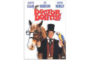 Still shot from the movie: Doctor Dolittle.