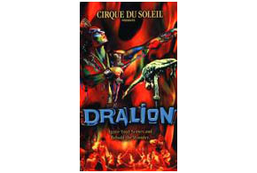 Still shot from the movie: Cirque du Soleil: Dralion.