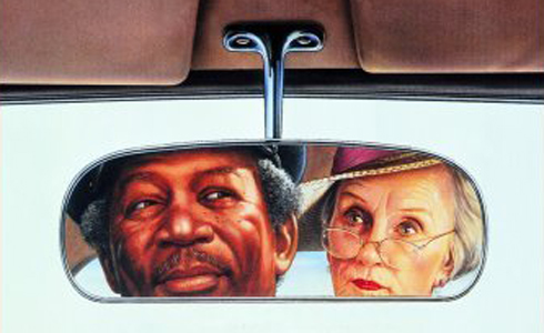 Still shot from the movie: Driving Miss Daisy.