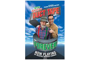 Still shot from the movie: Red Green's Duct Tape Forever.