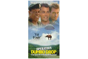 Still shot from the movie: Operation Dumbo Drop.