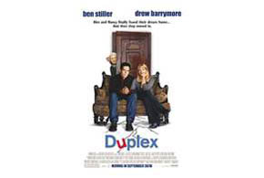 Still shot from the movie: Duplex.