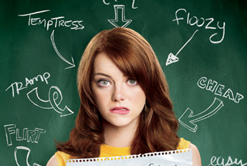 Still shot from the movie: Easy A.