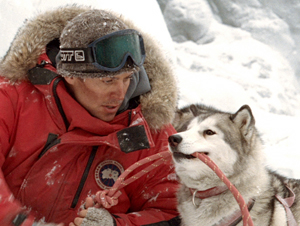Still shot from the movie: Eight Below.