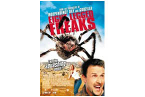 Still shot from the movie: Eight Legged Freaks.