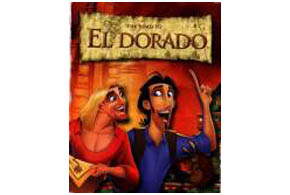 Still shot from the movie: The Road To El Dorado.
