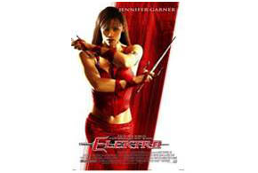 Still shot from the movie: Elektra.