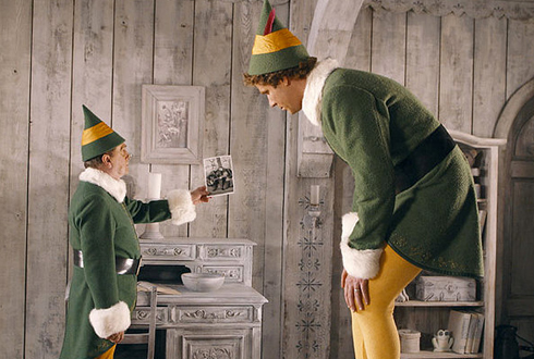 Still shot from the movie: Elf.