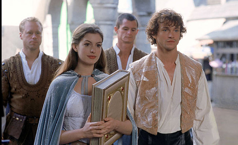 Still shot from the movie: Ella Enchanted.