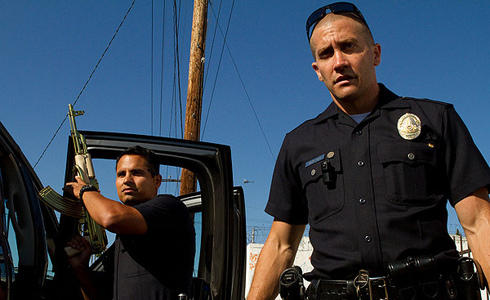 Still shot from the movie: End of Watch.