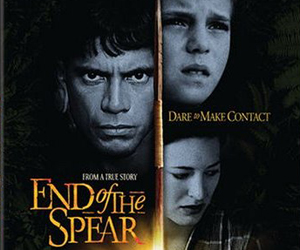 Still shot from the movie: End of the Spear.