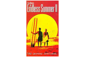 Still shot from the movie: Endless Summer.