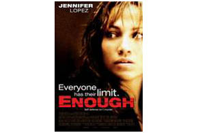 Still shot from the movie: Enough.