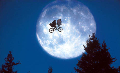 Still shot from the movie: E.T. The Extra-Terrestrial.