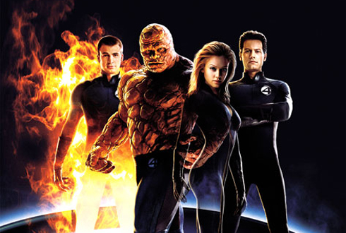 Still shot from the movie: Fantastic Four.