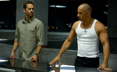 Still shot from the movie: Fast & Furious 6.