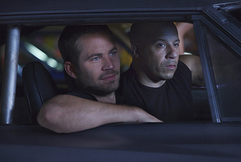 Still shot from the movie: Fast Five.