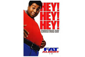 Still shot from the movie: Fat Albert.