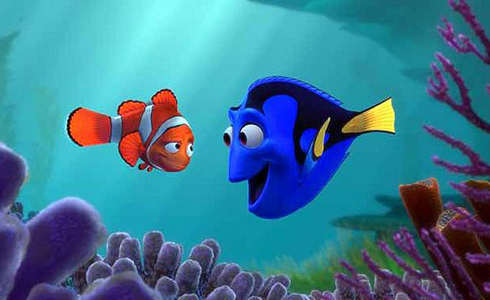 Still shot from the movie: Finding Nemo.