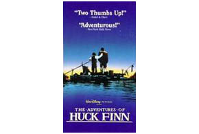 Still shot from the movie: The Adventures of Huck Finn.