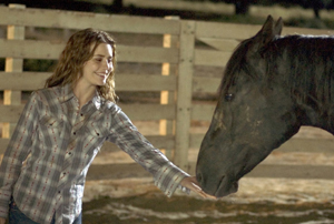 Still shot from the movie: Flicka.