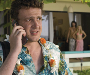 Still shot from the movie: Forgetting Sarah Marshall.
