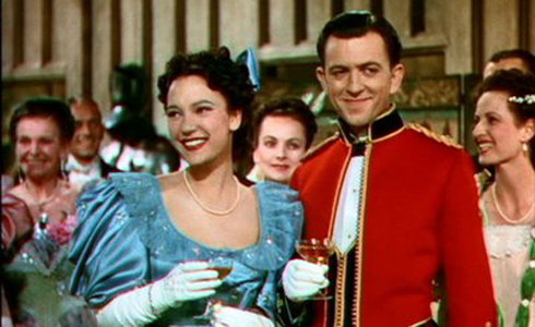 Still shot from the movie: The Four Feathers (1939).
