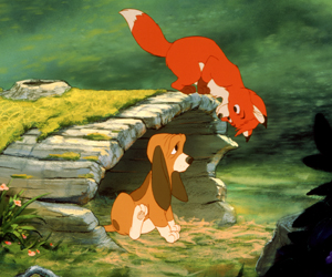 Still shot from the movie: The Fox And The Hound.