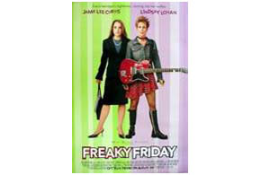 Still shot from the movie: Freaky Friday.