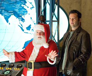 Still shot from the movie: Fred Claus.