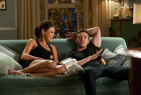 Still shot from the movie: Friends With Benefits.