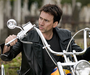 Still shot from the movie: Ghost Rider.