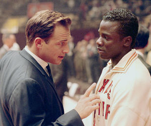 Still shot from the movie: Glory Road.