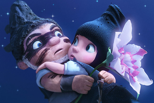 Still shot from the movie: Gnomeo & Juliet.