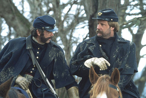 Still shot from the movie: Gods and Generals.