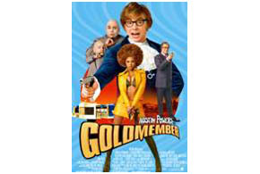 Still shot from the movie: Austin Powers in Goldmember.