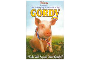 Still shot from the movie: Gordy.
