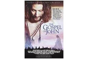 Still shot from the movie: The Gospel of John.