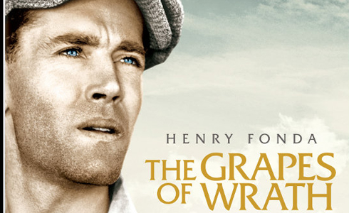 Still shot from the movie: The Grapes of Wrath.
