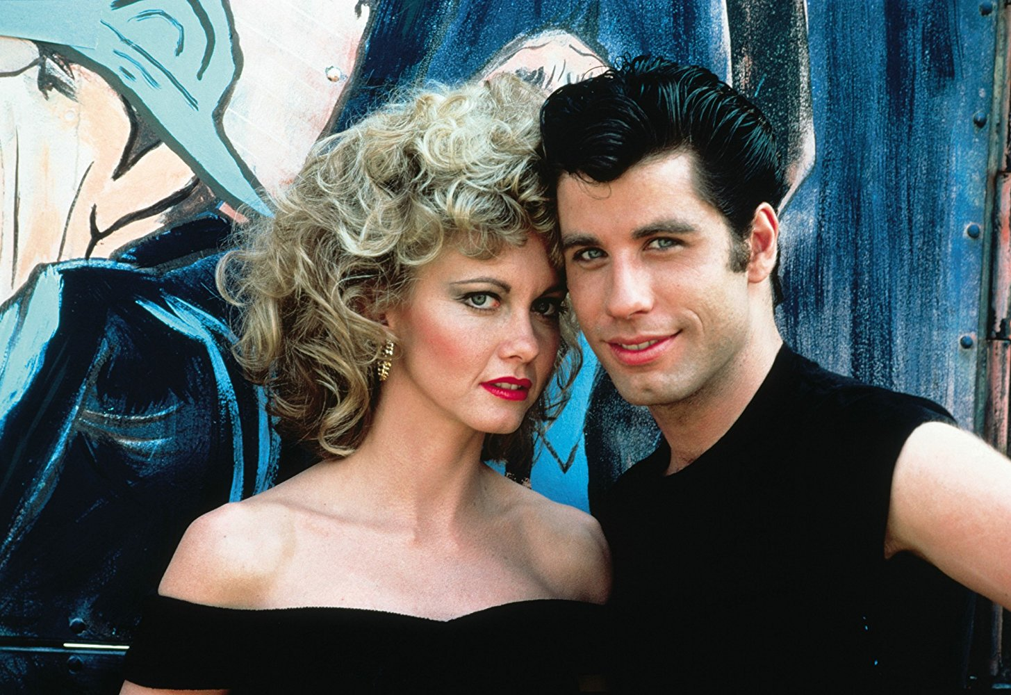 Still shot from the movie: Grease.