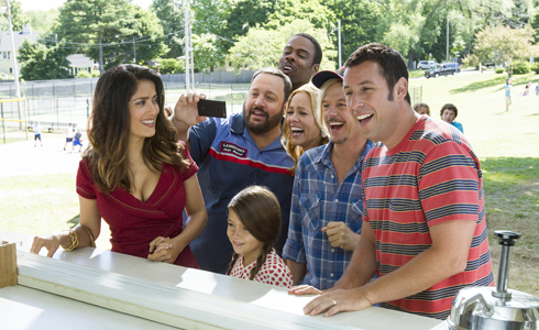 Still shot from the movie: Grown Ups 2.