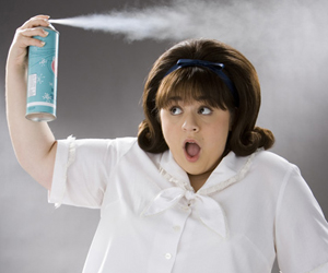Still shot from the movie: Hairspray.